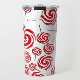 Candy Swirls-Large Travel Mug