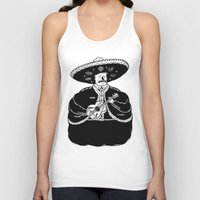 fat Tank Tops featuring The Fat Mariachi by David Penela