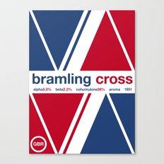 bramling cross single hop Canvas Print