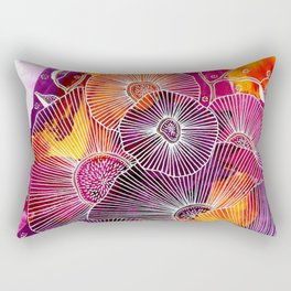 Fiery Expansion Rectangular Pillow