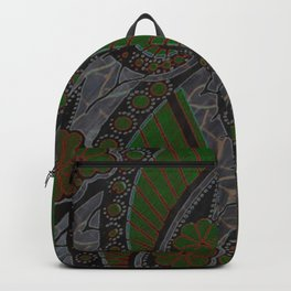 GREEN GRAY Backpack