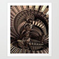 SwirlingThoughts Art Print