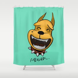 love is Shower Curtain