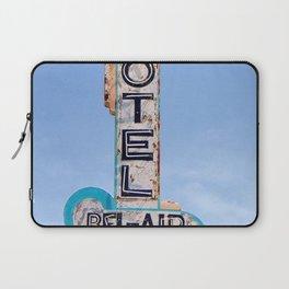 Motel Bel Air Vintage Neon Sign Laptop Sleeve