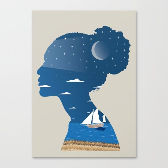 Her Canvas Print