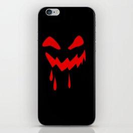 Halloween laughs iPhone Skin