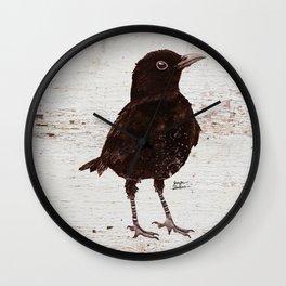 Black Bird Blakely (Vintage Edition) Wall Clock