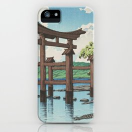 Japanese Traditional Torii iPhone Case