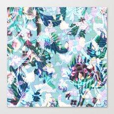 Tapestry Digi-blue Canvas Print