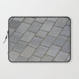 TEXTURES -- Pavingstone Pattern Laptop Sleeve