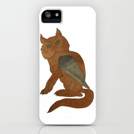 Owl Griffin iPhone Case