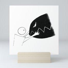 Fear Series - Scene 5 Mini Art Print