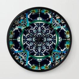 cherokee rose Maltese cross 1 Wall Clock