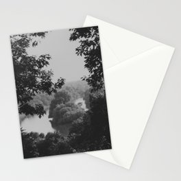 Richmond-upon-Thames vintage river view Stationery Cards