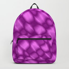 The intersection of poisonous droplets of a glamorous grid of dark cracks on the glass. Backpack