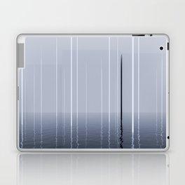 Narrow lights_blue Laptop & iPad Skin