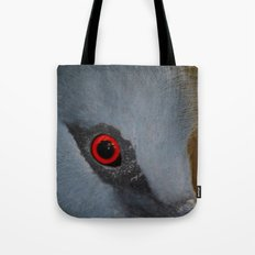 Victoria Crowned Pigeon Eye  Tote Bag
