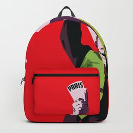 Lenin with  yellow vest Backpack
