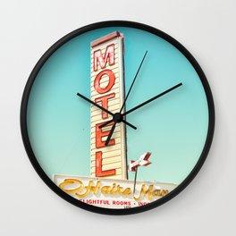 O'Haire Manor Motel Wall Clock