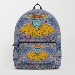 Owl kingdom in blue Backpack