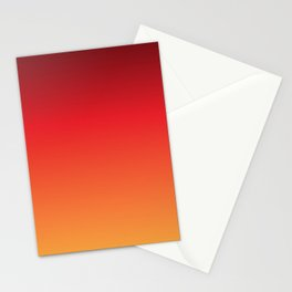 Hot Pepper Gradient Stationery Cards