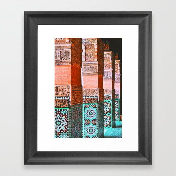 moroccan dreams Gerahmter Kunstdruck