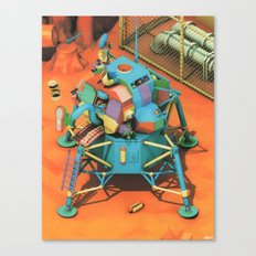 THE LANDER HAS LANDED Canvas Print