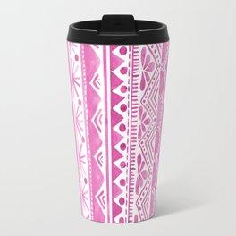 Watercolor tribal pattern Travel Mug