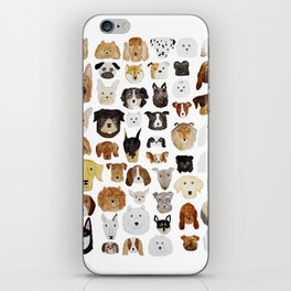 Dogs iPhone Skin
