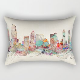 san diego skyline Rectangular Pillow