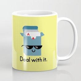 Talk to the Hand Coffee Mug