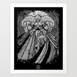 One from Beneath  Art Print