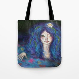 Women in Water Tote Bag