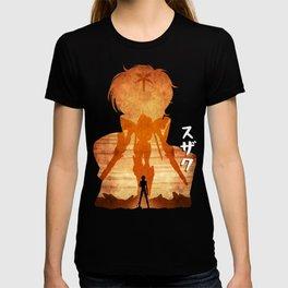 Minimalist Silhouette Suzaku T-shirt