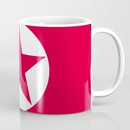 North Korea flag emblem Coffee Mug
