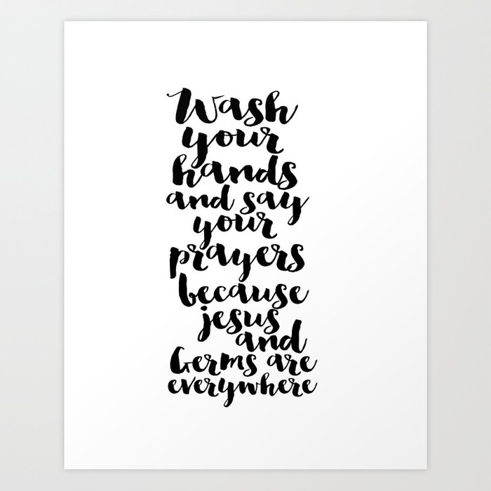wash your hands printable art bible verse art bable cover bible