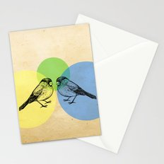 Together we make green Stationery Cards