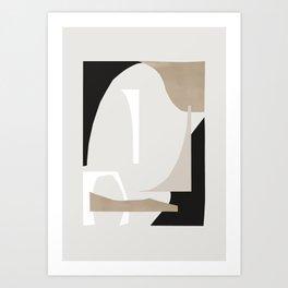 Abstract Shapes 3 Art Print