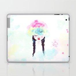 Creative mind Creative soul - watercolors girl Laptop & iPad Skin