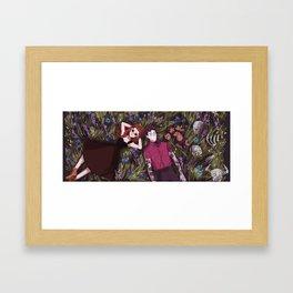 Hades' Holiday Framed Art Print
