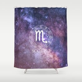 Scorpio Shower Curtain