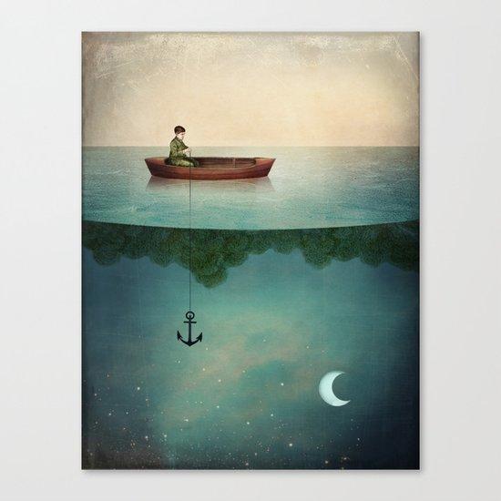 Entering Dreamland Canvas Print