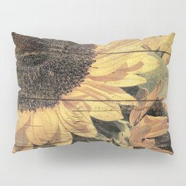 Rustic Yellow Sunflower Flower Country Art Cottage Chic A023 Pillow Sham