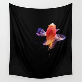 Sara's little red fish Wall Tapestry