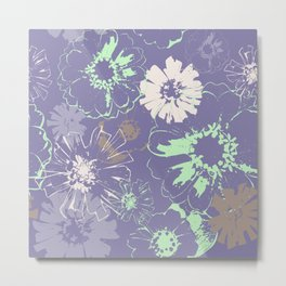 Late Summer Lavender Metal Print