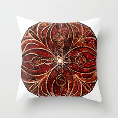 The Ancient Sex Gong Throw Pillow