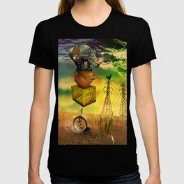 Freewheeling field maneuvers T-shirt