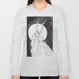 Antler Girl Long Sleeve T-shirt