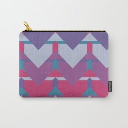 Cool Waves #society6 #violet #pattern Carry-All Pouch