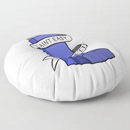 It Ain't Easy Bein' Wheezy Floor Pillow